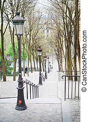 Montmartre - Famous area in Paris