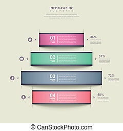 abstract chart infographics