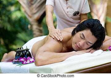 Outside Massage