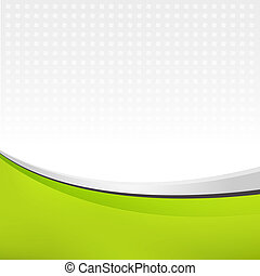 Abstract background in green color Vector illustration for...