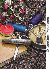 tools for sewing and cutting