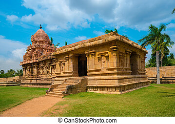 Great architecture of Hindu Temple dedicated to Shiva,...