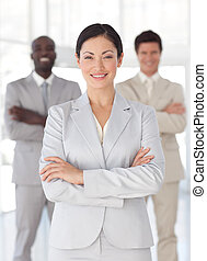 female business leader - Young female business leader