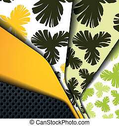 multi layered abstract background