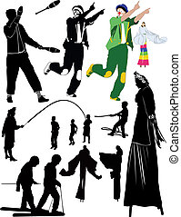 juggler clown people
