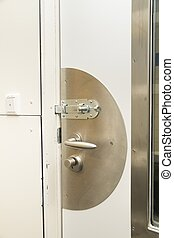 Lock of prisoncell - Lock of prison cell while lockdown