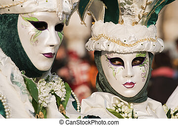 Venice - carnival of the masks