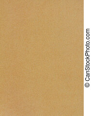 Sheet of brown paper background