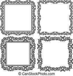 square frames - set of square frames