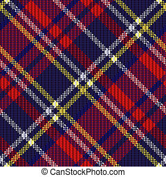 Diagonal tartan fabric seamless texture - Diagonal seamless...