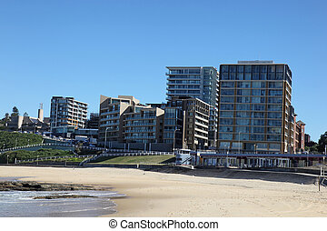 Newcastle Beach - Australia - Newcastle Beach - Newcastle is...