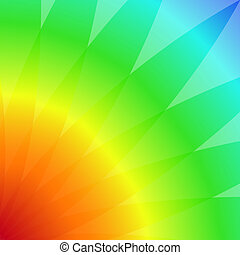 abstract background with colored petals illustration