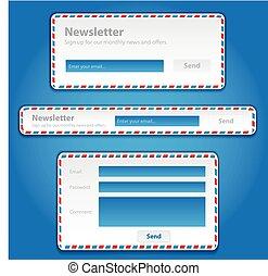 Newsletter - Stock Illustration