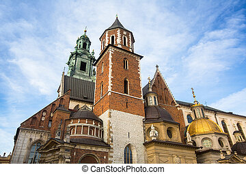 Wawel Cathedral in Kracow, Poland