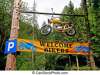 Welcome bikers