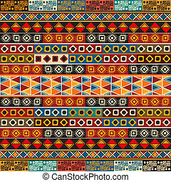 Strips motifs pattern - Seamless pattern design with various...