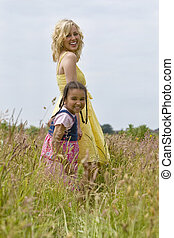 Happy Families - A beautiful blond haired blue eyed young...