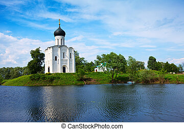 Church of the Intercession on the River Nerl Inscribed in...