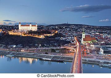 Bratislava, Slovakia. - Image of Bratislava, the capital...