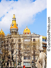 Pons houses Barcelona, Spain - Pons houses, built in...