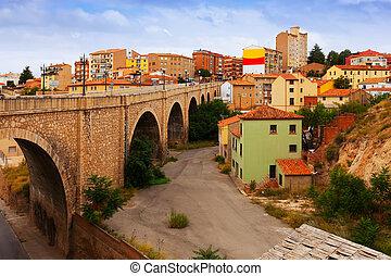 Road bridge in Teruel