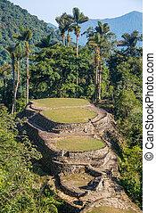 Ciudad Perdida in Colombia - The Ciudad Perdida, or Lost...