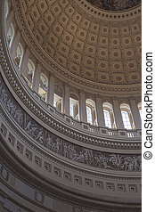 The US Capitol Rotunda