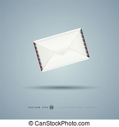 The letter illustration created