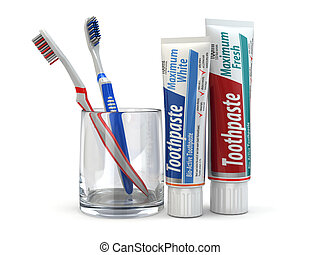 Dental protection, Toothpaste and toothbrushes - Dental...