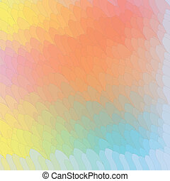 abstract background pastel colors of the rainbow