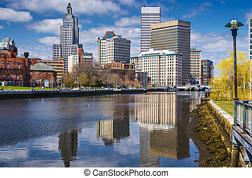 Providence Cityscape - Providence, Rhode Island, USA...