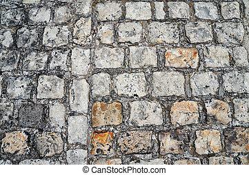 pavimento, antiguo