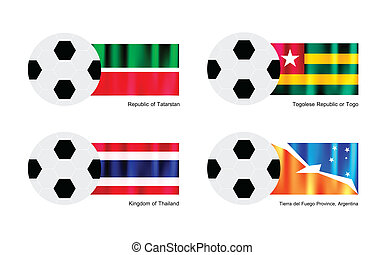 Football with Tatarstan, Togo, Thailand and Tierra del Fuego...