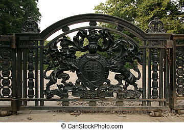Iron Gate - Victoria Memorial, Calcutta, India - Victoria...