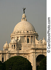 Victoria Memorial, Calcutta, India - Victoria Memorial a...
