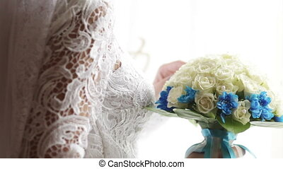 Wedding bouquet - Bridesmaid holding wedding bouquets