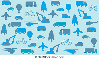 transport seamless background