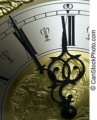High Noon - A part of a ancient clock