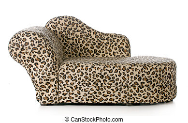 dog or cat bed or couch isolated on white background