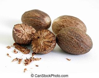 Nutmeg - Food, kitchen, spices