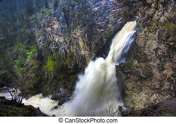 Fintry Waterfalls