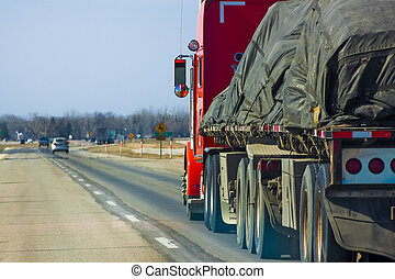 Freight Transport on Highway