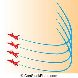 Airshow. - Airshow display design.