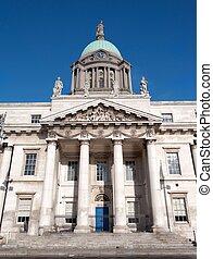 Custom House - ornate landmark of Dublin, Ireland (Europe)