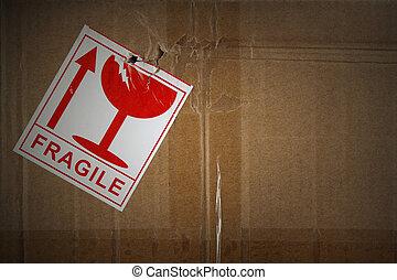Fragile freight