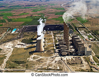 Power plant in operation