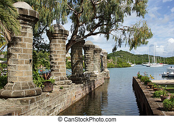 Nelsons Dockyard, Antigua and Barbuda, Caribbean - Nelsons...