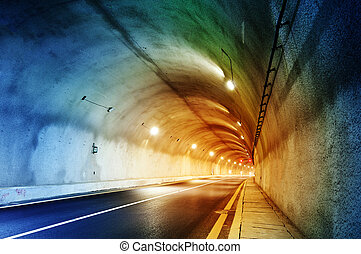 Tunnel - No vehicular tunnel in Shanghai, China.