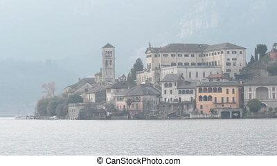 orta - Isle of Orta San Giulio, Orta lake, Italy