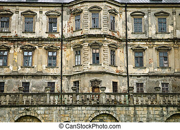 Ancient castle - Facade of an ancient castle